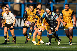 Tusi Pisi of Bristol Rugby breaks - Rogan Thomson/JMP - 21/01/2017 - RUGBY UNION - Cardiff Arms Park - Cardiff, Wales - Cardiff Blues v Bristol Rugby - EPCR Challenge Cup.