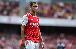 Henrikh Mkhitaryan of Arsenal - Mandatory by-line: Arron Gent/JMP - 28/07/2019 - FOOTBALL - Emirates Stadium - London, England - Arsenal v Olympique Lyonnais - Emirates Cup
