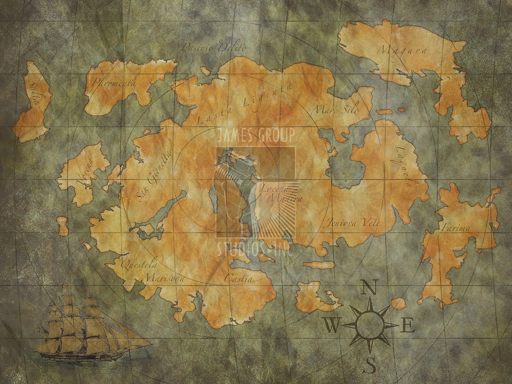 treasure map background