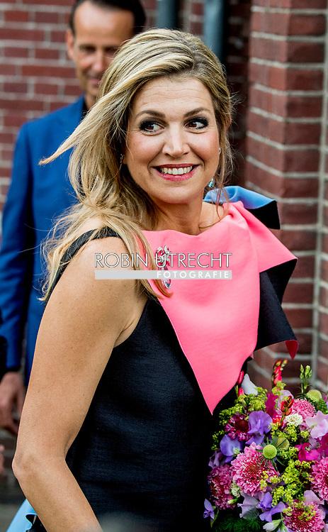 3-6-2017 AMSTERDAM - Queen M&aacute;xima is present at the opening show of the 70th Holland Festival in the Gashouder of the Westergasfabriek. COPYRIGHT ROBIN UTRECHT<br /> 3-6-2017 AMSTERDAM - Koningin M&aacute;xima is aanwezig bij de openingsvoorstelling van het 70e Holland Festival in de Gashouder van de Westergasfabriek. COPYRIGHT ROBIN UTRECHT
