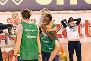 Parma 14 Febbraio 2012 <br /> Nazionale Italiana Femminile Allenamento<br /> Nella foto: sabrina cinili Abjola Wabara<br /> Foto Ciamillo