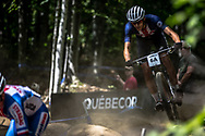 BLEVINS Christopher (USA) during the Team Relay at the 2019 UCI MTB World Championships in Mont-Sainte-Anne, Canada.
