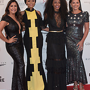 Bonang M,Sello Hatang,Beverley Knight,Vanessa Williams and Maria Bravo Arrive The Nelson Mandela Foundation hosts dinner in memory of Nelson Mandela on what would have been the day before his 100 birthday on 24 April 2018 at Rosewood Hotel, London, UK.
