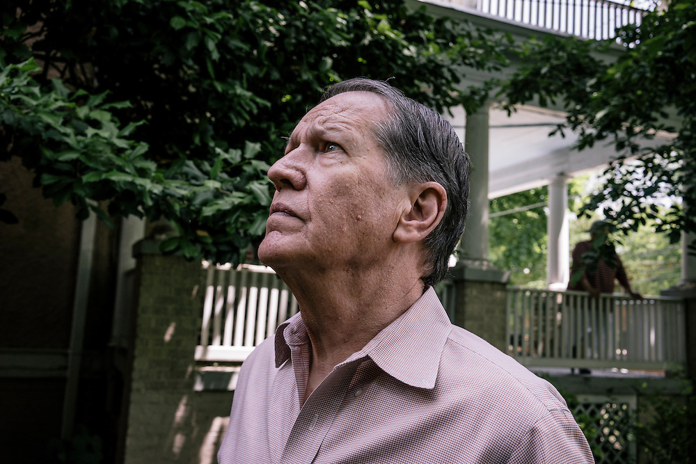 WASHINGTON, DC - MAY 12 William Christenberry at his home in NW Washington DC on May 20, 2015. (Photo by Greg Kahn/GRAIN for The Washington Post)