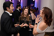 """From left, Jun Iwasaki, Erin Hall and Paige Matherly enjoy cocktails at the 33rd annual Symphony Ball on Dec. 9, 2017 at the Schermerhorn Symphony Center. Steven Tyler is this year's recipient of the Symphony's annual """"Harmony Award,"""" which recognizes a person """"who best exemplifies the harmonious spirit of Nashville's musical community."""" The ball is one of the symphony's two annual fundraisers, and has raised more than $7 million for the organization to date. Past Harmony Award winners include Taylor Swift, Dolly Parton, Faith Hill & Tim McGraw, Miranda Lambert and Carrie Underwood."""