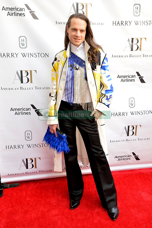 May 20, 2019 - New York, NY, USA - May 20, 2019  New York City..Jordan Roth attending arrivals to the American Ballet Theater  Spring Gala at the Metropolitan Opera House in Lincoln Center on May 20, 2019 in New York City. (Credit Image: © Kristin Callahan/Ace Pictures via ZUMA Press)