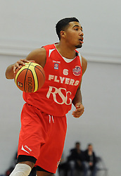 Bristol Flyers' Dwayne Lautier-Ogunleye - Photo mandatory by-line: Dougie Allward/JMP - Mobile: 07966 386802 - 27/02/2015 - SPORT - basketball - Bristol - SGS Wise Campus - Bristol Flyers v Leeds Force - British Basketball League