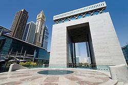 Dubai International Financial Centre in financial district of Dubai in United Arab Emirates UAE Middle East