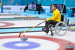 Haito Wang, Wheelchair Curling Semi Finals at the 2014 Sochi Winter Paralympic Games, Russia