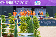 Team NL<br /> FEI European Championships Gothenburg 2017<br /> © DigiShots