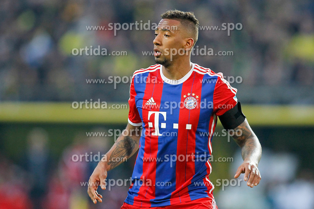 04.04.2015, Signal Iduna Park, Dortmund, GER, 1. FBL, Borussia Dortmund vs FC Bayern Muenchen, 27. Runde, im Bild Jerome Boateng (FC Bayern Muenchen #17) // during the German Bundesliga 27th round match between Borussia Dortmund and FC Bayern Muenchen at the Signal Iduna Park in Dortmund, Germany on 2015/04/04. EXPA Pictures &copy; 2015, PhotoCredit: EXPA/ Eibner-Pressefoto/ Sch&uuml;ler<br /> <br /> *****ATTENTION - OUT of GER*****