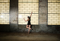 Ellouise studio dance session.  ©2015 Karen Bobotas Photographer