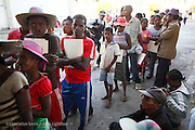 209, Frederic Jean-Jacques, Male, 12 years old, UCL, Before, with Mother Celestine Baojoma and other patients in the queue for screening.<br /> <br /> Hospital Joseph Ravoahangy Andrianavalona.  Operation Smile's 2015 mission to Antananarivo - Madagascar. 10th -18th April 2015.<br /> <br /> (Operation Smile Photo - Zute Lightfoot)