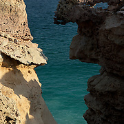 Oman, Ra's al-Jinz. March/14/2008...RJ-1 Mesa rock abstraction.