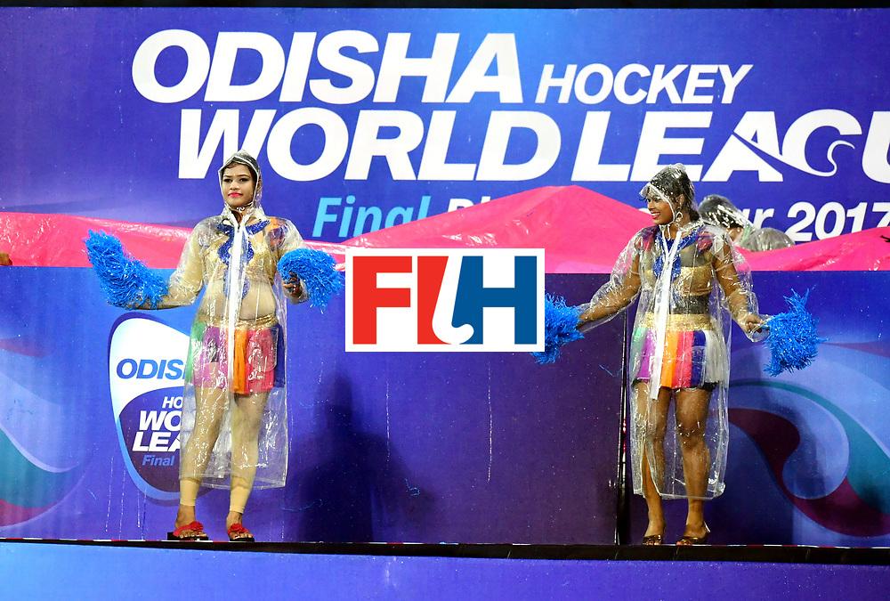 Odisha Men's Hockey World League Final Bhubaneswar 2017<br /> Match id:17<br /> England v Netherlands<br /> Foto: Ceremonie<br /> COPYRIGHT WORLDSPORTPICS FRANK UIJLENBROEK