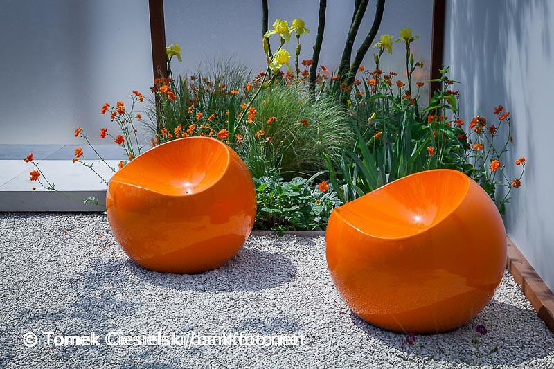 Modern plastic chair