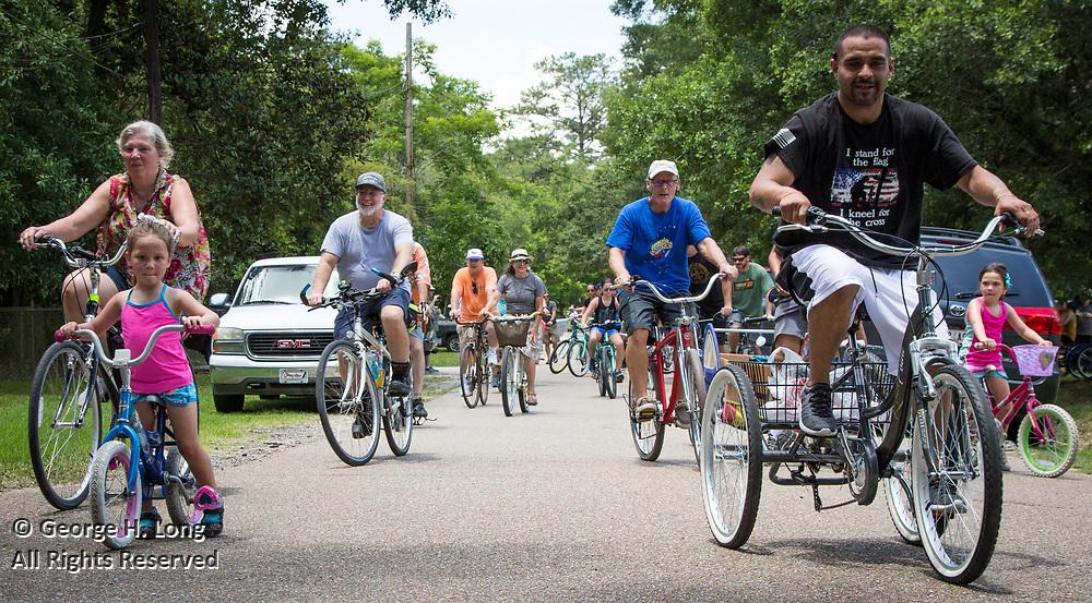 Louisiana Bicycle Festival in Abita Springs on June 15, 2019