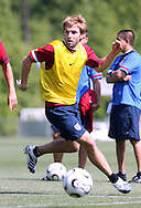 Bobby Convey on Wednesday, May 17th, 2006 at SAS Soccer Park in Cary, North Carolina. The United States Men's National Soccer Team held a training session as part of their preparations for the upcoming 2006 FIFA World Cup Finals being held in Germany.