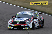 #19 Bobby Thompson Trade Price Cars with Team HARD Racing Volkswagen CC during BTCC Race 1  as part of the Dunlop MSA British Touring Car Championship - Rockingham 2018 at Rockingham, Corby, Northamptonshire, United Kingdom. August 12 2018. World Copyright Peter Taylor/PSP. Copy of publication required for printed pictures.