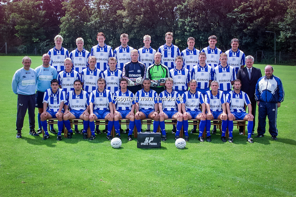 Esbjerg fB, Team Photo 2000