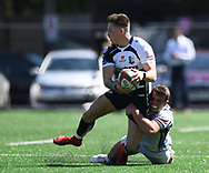 Pontypridd's Cameron Lewis<br /> Pontypridd RFC v Cardiff RFC<br /> <br /> Photographer Mike Jones / Replay Images<br /> Sardis Road, Pontypridd.<br /> Wales - 5th May 2018.<br /> <br /> Pontypridd RFC v Cardiff RFC<br /> Principality Premiership<br /> <br /> World Copyright &copy; Replay Images . All rights reserved. info@replayimages.co.uk - http://replayimages.co.uk