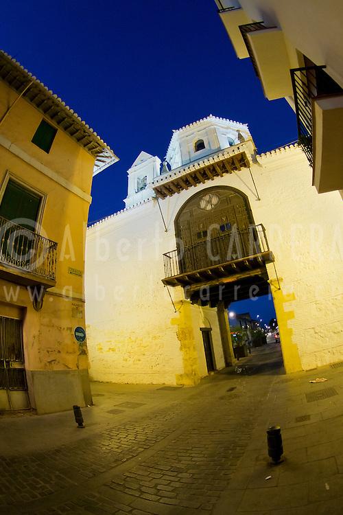 Alberto Carrera, Gate of Granada, Eastern Gate, Arco de Granada, Santa Fe, Granada, Andalucía, Spain, Europe