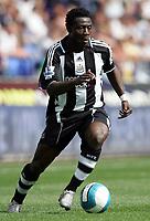Photo: Paul Thomas. <br /> Bolton Wanderers v Newcastle United. Barclays Premiership. 11/08/2007. <br /> <br /> Goal scorer Obafemi Martins of Newcastle.