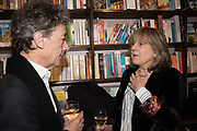 COUNT ADAM ZAMOYSKI, CATHERINE GUINNESS, book launch for No Longer With Us by Naim Attallah. Daunt books. Marylebone. London. 28 Novermber 2018