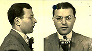 Prostitutes And Madams: Mugshots From When Montreal Was Vice Central<br /> <br /> Montreal, Canada, 1949. Le Devoir publishes a series of articles decrying lax policing and the spread of organized crime in the city. Written by campaigning lawyer Pacifique 'Pax' Plante (1907 – 1976) and journalist Gérard Filion, the polemics vow to expose and root out corrupt officials.<br /> <br /> With Jean Drapeau, Plante takes part in the Caron Inquiry, which leads to the arrest of several police officers. Caron JA's Commission of Inquiry into Public Morality began on September 11, 1950, and ended on April 2, 1953, after holding 335 meetings and hearing from 373 witnesses. Several police officers are sent to prison.<br /> <br /> During the sessions, hundreds of documents are filed as evidence, including a large amount of photos of places and people related to vice.  photos of brothels, gambling dens and mugshots of people who ran them, often in cahoots with the cops – prostitutes, madams, pimps, racketeers and gamblers.<br /> <br /> Photo shows: Henry Druik, 1940 – arrested 8 times between 1938 and 1942 for holding a gaming house at 463 McGill.<br /> ©Archives de la Ville de Montréal/Exclusivepix Media
