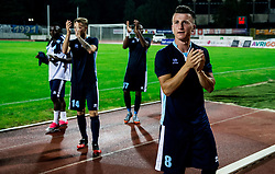 Rifet Kapic of Gorica celebrates after the 2nd Leg football match between ND Gorica and FC Shirak in 1st Qualifying Round of UEFA Europa League 2017/18, on July 6, 2017 in Nova Gorica, Slovenia. Photo by Vid Ponikvar / Sportida