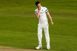 Ben Coad of Yorkshire cuts a frustrated figure - Mandatory by-line: Robbie Stephenson/JMP - 05/04/2019 - CRICKET - Trent Bridge - Nottingham, England - Nottinghamshire v Yorkshire - Specsavers County Championship Division One