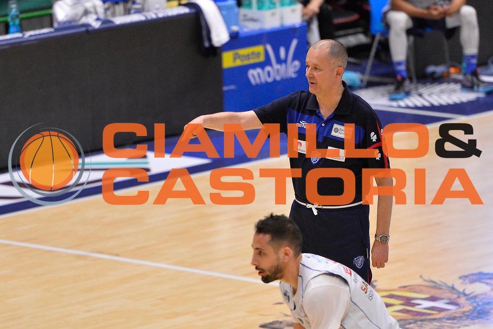 SASSARI 04 APRILE 2018<br /> Allenamento con Zare Markovski<br /> Banco di Sardegna Dinamo Sassari<br /> Legabasket Serie A LBA PorteMobile 2017/2018<br /> NELLA FOTO Zare Markovski<br /> FOTO CIAMILLO