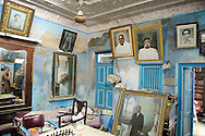Inside the home of Dilip Asher, in Mandvi. His grandfather became the city's richest resident.