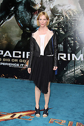 @ London News PIctures. Sienna Guillory at  Pacific Rim European Film Premiere, BFI IMAX Waterloo, London UK, 04 July 2013. Photo by Richard Goldschmidt/LNP