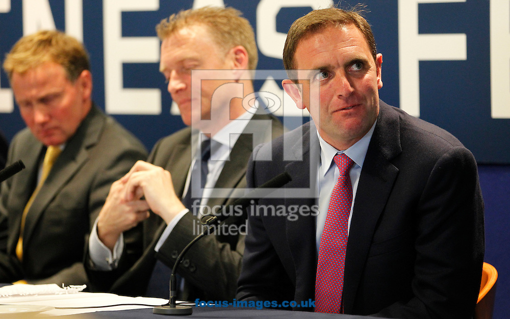 Charlie Appleby on the panel for the Quipo Guineas Lunch at Newmarket Rowley, Newmarket<br /> Picture by John Hoy/Focus Images Ltd +44 7516660607<br /> 29/04/2014