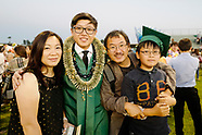 2018 Kyle Chiu high school graduation ceremony