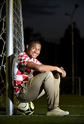 01.10.2012, Zagreb, CRO, Portrait, Jorge Sammir Cruz Campos, im Bild der Croatische Fusballer Jorge Sammir Cruz Campos // Jorge Sammir Cruz Campos, football player of GNK Dinamo and Croatia national football team // during a photocall in Zagreb, Croatia on 01.10.2012. EXPA Pictures © 2012, PhotoCredit: EXPA/ Pixsell/ Marko Lukunic..***** ATTENTION - OUT OF CRO, SRB, MAZ, BIH and POL *****