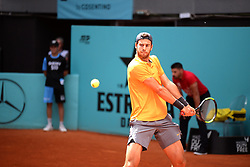 May 6, 2019 - Madrid, Spain - Karen Jachánov (RUS) in his match against Jaume Munar (SPA) during day three of the Mutua Madrid Open at La Caja Magica in Madrid on 6th May, 2019. (Credit Image: © Juan Carlos Lucas/NurPhoto via ZUMA Press)