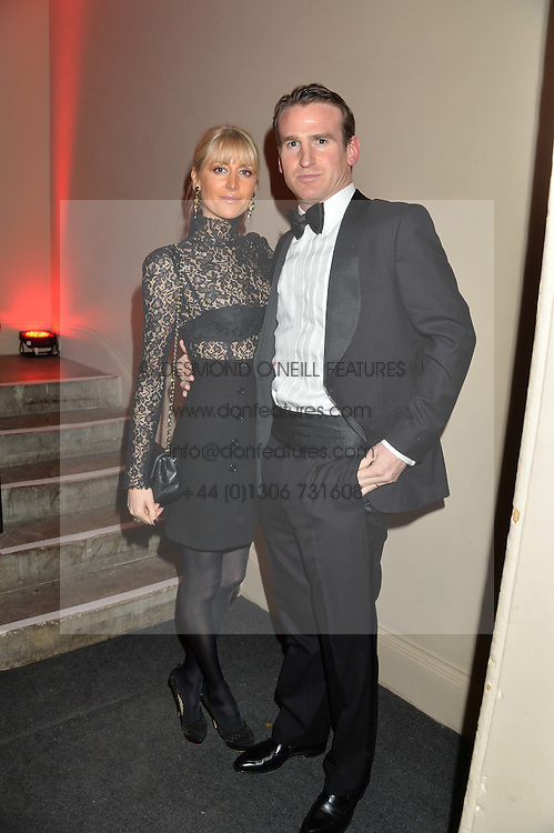 EDWARD HORNER and LADY EMILY HORNER at the Sugarplum Dinner - The event was for the launch of Sugarplum Children, a new website and fundraising initiative for children who live with type 1 diabetes, and to raise money for JDRF (Juvenile Diabetes Research Foundation) held at One Mayfair, 13A North Audley Street, London on 20th November 2013.