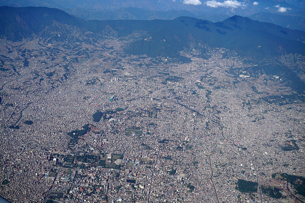 Nepal From Air
