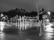 Tallahassee - FL - January 2, 2017: <br /> <br /> Madison Garber shoots candids at Cascades Park on January 2, 2017 in Tallahassee, FL. <br /> <br /> &copy;2017 Perrone Ford / PTFPhoto.com