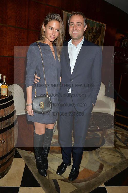BEN & JEMIMA GOLDSMITH at the London launch of Casamigos Tequila hosted by Rande Gerber, George Clooney & Michael Meldman and to celebrate Cindy Crawford's new book 'Becoming' held at The Beaumont Hotel, Brown Hart Gardens, 8 Balderton Street, London on 1st October 2015.