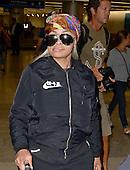 Blac Chyna and Rob Kardashian arrive at Miami Airport