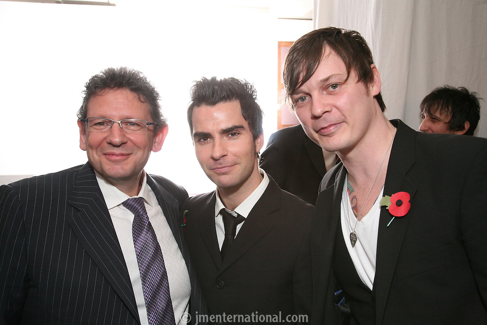 Lucian Grainge and Stereophonics Kelly and Richard Jones