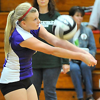 9.18.2012 Vermilion at Elyria Catholic JV Volleyball