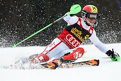 HIRSCHER Marcel of Austria during the 1st Run of Men's Slalom - Pokal Vitranc 2013 of FIS Alpine Ski World Cup 2012/2013, on March 10, 2013 in Vitranc, Kranjska Gora, Slovenia.  (Photo By Vid Ponikvar / Sportida.com)