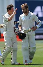 Hamilton-Cricket, New Zealand v Sri Lanka, 2nd test, day 4
