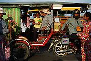 Rickshaws, Phnom Penh