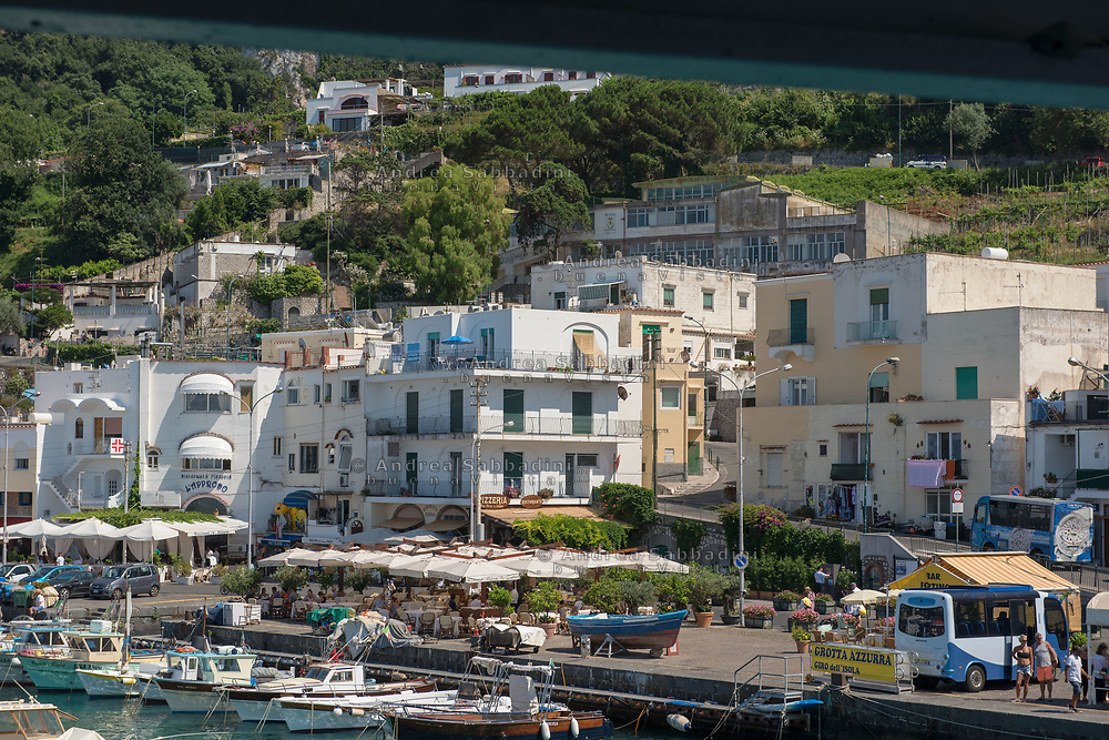 Capri, 30/06/2018: Anacapri.<br /> &copy; Andrea Sabbadini