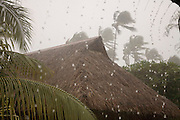 Rain, Moorea, French Polynesia